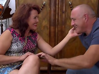 mature insatiable red