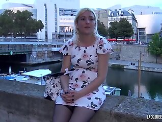 blonde mature alysee